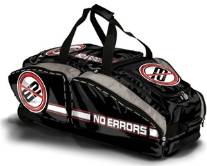 No Errors NO E2 Catcher's Bag with FatBoy Wheels