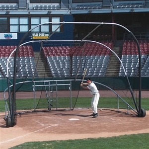 JayPro Little Slam Collegiate Batting Cage