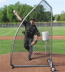 The A Screen PRO Portable Pitching Screen