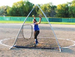 The A Screen Portable Softball Screen