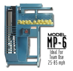 Iron Mike MP6 Hopper Fed Pitching Machine