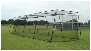 Muhl Pro Series #45 Knotted Poly Batting Cage Netting - 55' and 70'