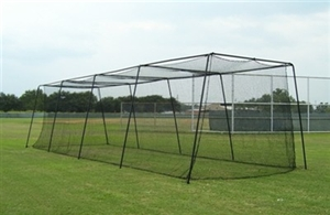 55' Batting Cage & Frame with #45 Net