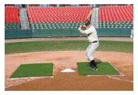 ProMounds 4'x6' Batting Stance Mat