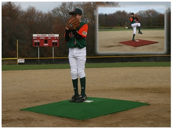 "ProMounds ""Minor League"" 6"" Game Pitching Mound"