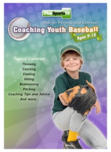 Coaching Youth Baseball DVD (For Ages 9-12)