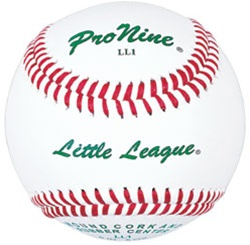 Pro Nine LL1 Little League Official Game Baseballs - Dozen