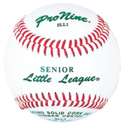 Pro Nine SLL1 Senior Little League Official Game Baseballs - Dozen
