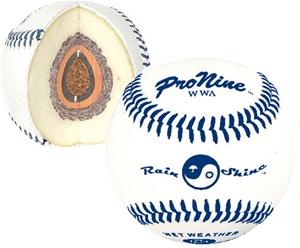 Pro Nine WWA Wet Weather Baseballs - Dozen