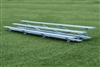 "Sightlines 3 Row Bleacher - 7'6"" Length, Seats 15"