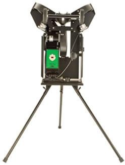three wheel pitching machine