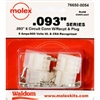 MOLEX KIT    .093 6 CIR; 1261PRT