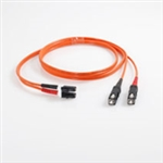 FIBER MM 2M LC SC 50um DPX PVC; Part no: 850-L32-006