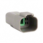 AT04-4P; 4 PIN RECEPTACLE