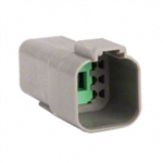 AT04-6P; 6 PIN RECEPTACLE