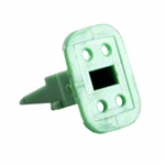 AW4S; 4 PIN PLUG WEDGE