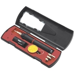 Weller Electric Portasol Professional Self-igniting Cordless Butane Solder Kit; Part Number: P2KC