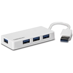 4-port High Speed USB 3.0 Mini Hub; TU3-H4E