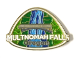 Multnomah Falls Lapel Pin