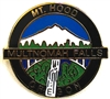 Mt. Hood, Multnomah Falls Lapel Pin