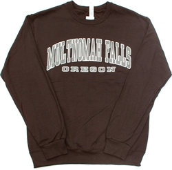 Multnomah Falls Black Crew Neck