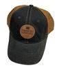 Copper Leather Hat