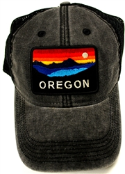 Oregon Sunset Cap