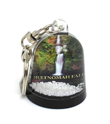 Snow Globe Key Chain