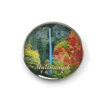 Multnomah Falls Glass Magnet