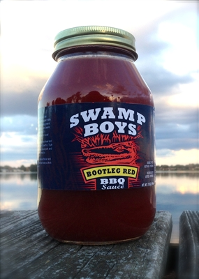 Swamp Boys Bootleg Red Vinegar BBQ Sauce - Quart