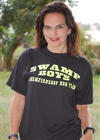 Swamp Boys Team T- Shirt Black