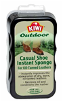 KIWI Outdoor Oil Tanned shoe instant sponge
