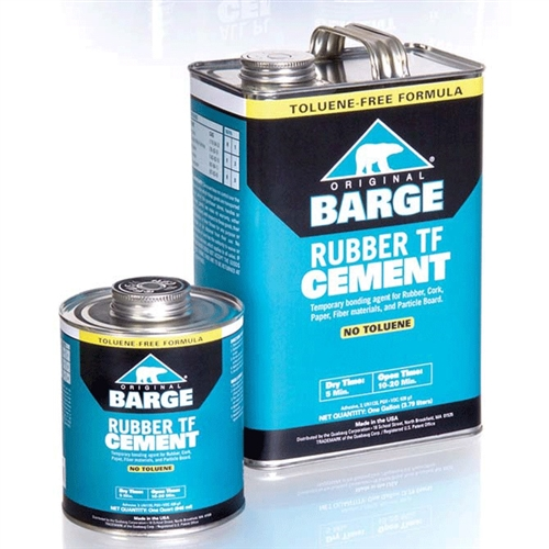 Barge Rubber TF Cement - 1 Gallon