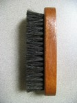 Mini 100% Horsehair Shine brush
