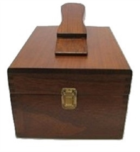 Valet Shoe Shine Box, Empty