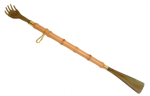 Back Scratcher Shoe Horn - 22""