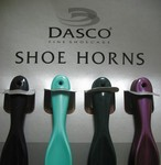 "12-Pack Dasco Plastic Shoe Horns - 7.5"" (Made in England)"
