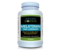 Melatonin 3mg (60 Dissolvable Lozenges) Peppermint Flavor