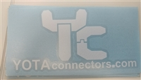 YotaConnectors Sticker - YC Logo