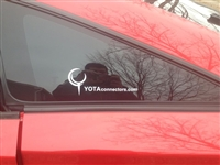 YotaConnectors Sticker - YC Text