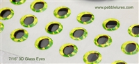 3D GLass Eyes | Hard Molded