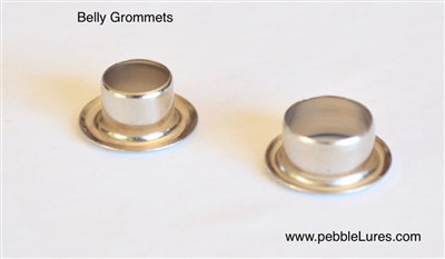 Belly Grommets | Nickel Plated