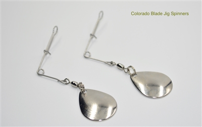 Colorado Blade Metal Jig Spinners | 4 per pack