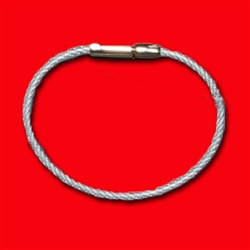 Individual Flexible Cable Rings (CLEAR/SILVER)