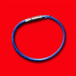Individual Flexible Cable Rings (BLUE)