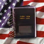 Flight Crew Check Lists Binders (MilSpec Vinyl) > 55 page