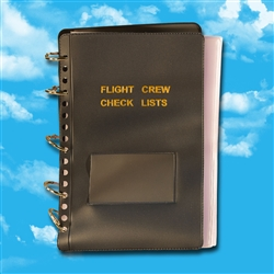 Flight Crew Check Lists Binders (MilSpec Vinyl) > 25 page