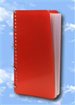 Long Format Check List Binders (RED)