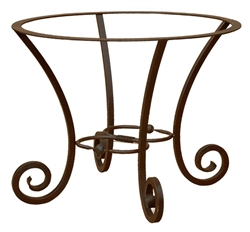 Forged Iron Round Table Base
