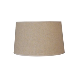 Med. Barrel - Linen Shade
